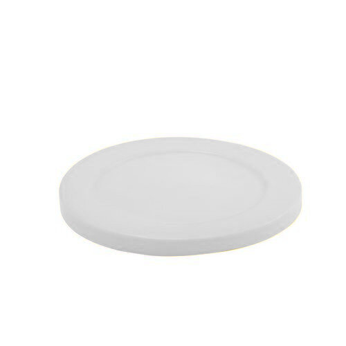 Lid To Suit 114L Heavy Duty Tapered Bin Transparent White