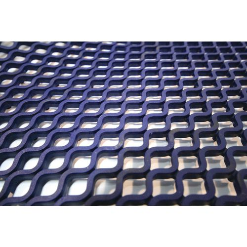 Diamond Grid Blue 1Mx4.8M