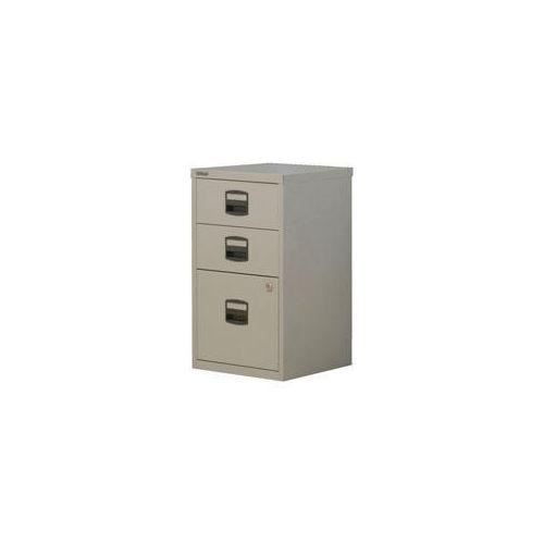 Bisley Pfa Home Filer 1xFiling 2xStationery Drawers Grey
