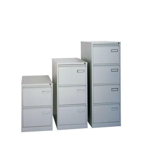 Bisley Psf Filing Cabinet 3 Drawer Goose Grey