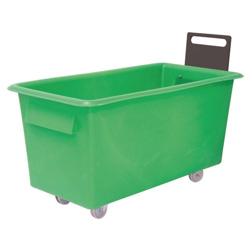 Truck Food 1219X610X610mm Green With Handle
