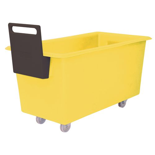 Truck Food 1219X610X610mm Yellow With Handle