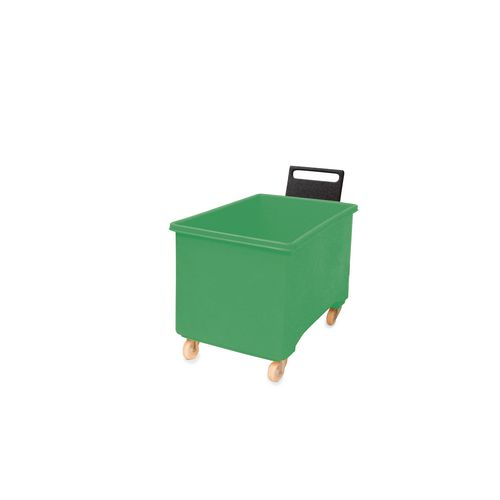 Box Mobile Pallet Green927X584X508mm With Handle 2F+2Swx102 Ny+Tg
