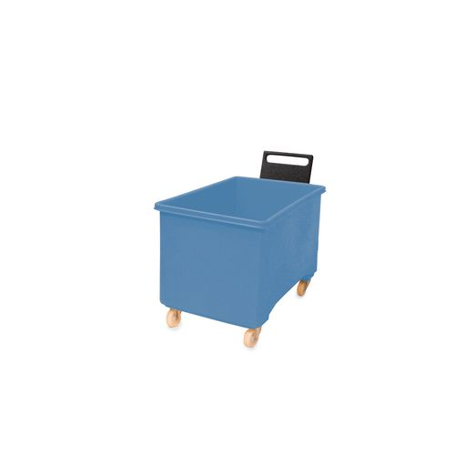 Box Mobile Pallet Blue927X584X508mm With Handle 2F+2Swx102 Ny+Tg