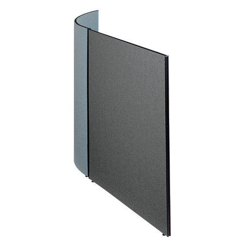 Busyscreen Partition System Flat Screen W1000xH1825mm Merrick Dark Grey