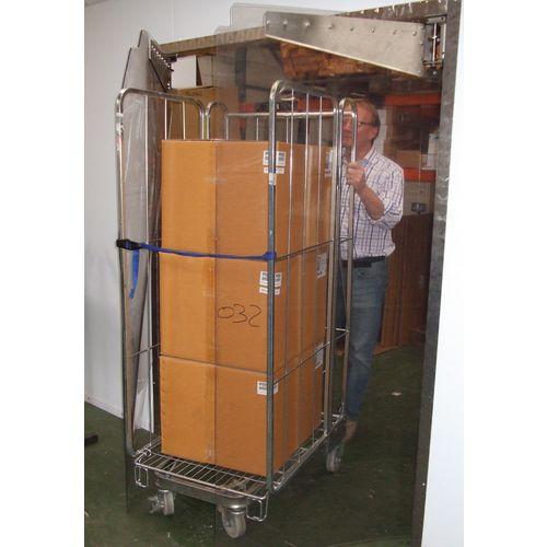 Std Clear Pvc Sheet 1000x7x10M Roll