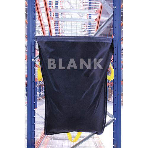 Blank Blue Waste Racksack Pack of 10