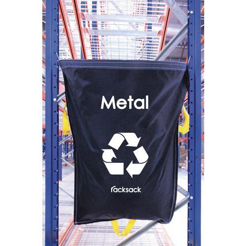 Metal Waste Blue Racksack