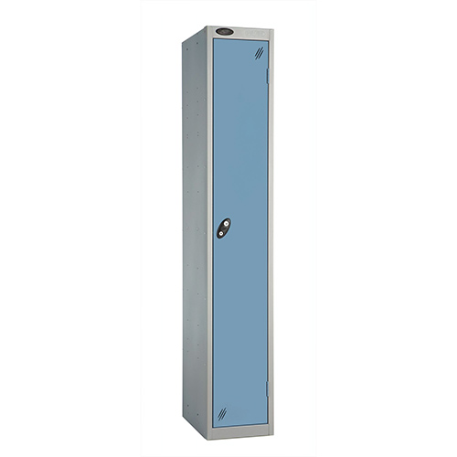 1 Door Locker D305mm Silver Body &Ocean Door