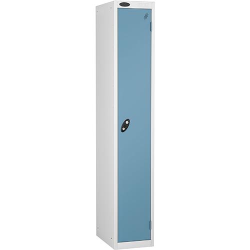 1 Door Locker D305mm White Body &Ocean Door