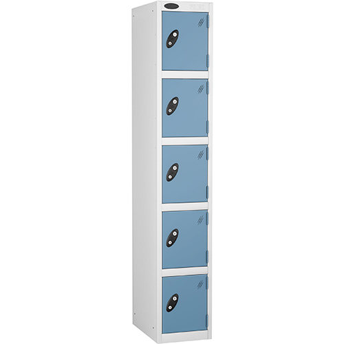 5 Door Locker D:457mm White Body &Ocean Door
