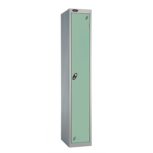 1 Door Locker D305mm Silver Body &Jade Door