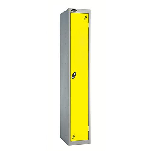 1 Door Locker D457mm Silver Body &Lemon Door