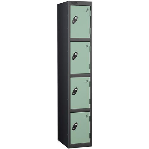 Black Body Locker 12x18 4 Jade Doors