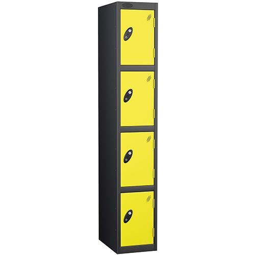 Black Body Locker 12x18 4 Lemon Doors