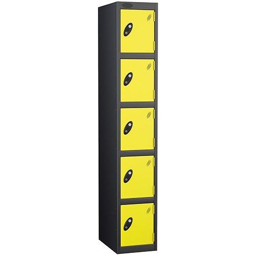 Black Body Locker 12x18 Five Lemon Doors