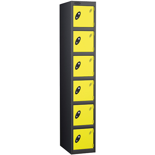 Black Body Locker 12x18 6 Lemon Doors