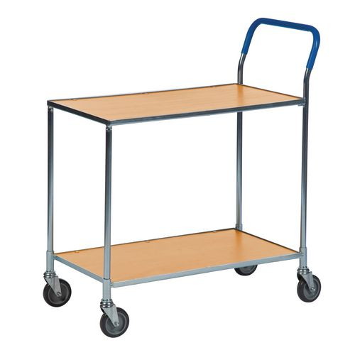 Two Tier Shelf Trolley -Beech