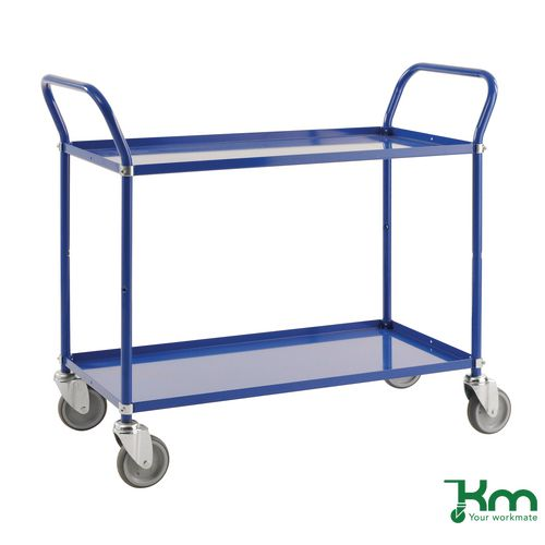 Light Shelf Trolley Blue