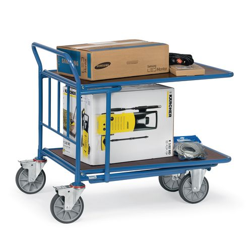 Double Deck Cash &Carry Trolley 1000x600mm