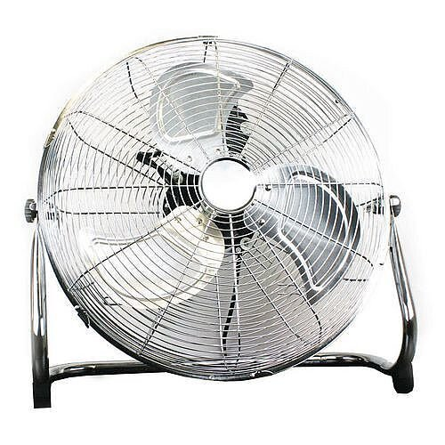Floor Standing Fan In Chrome 3 Speed 18 Inch Hunt Office Ireland