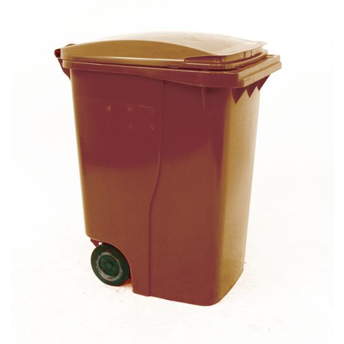 Refuse Container 360 Litre2 Wheeled Colour Brown
