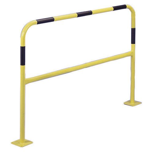 Concrete-In Barrier 40mm 1M Yellow &Black