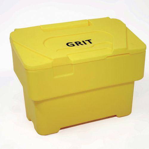 115 Litre Grit Bin Yellow