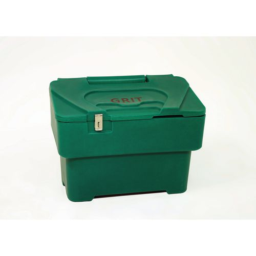 115 Litre Grit Bin With 1xHasp And Staple Lock Green