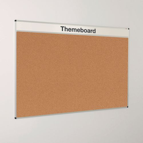 Themeboard Open Noticeboard  1200x1500mm (Hxw)  Cork