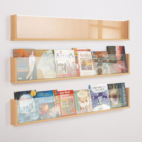 Shelf Style Wall Mounted Display  Pack Of 3