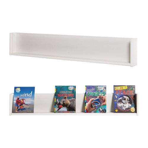 Shelf Style Wall Mounted Display  White