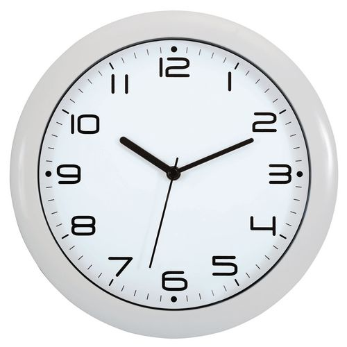 Wall Clock 300mm Diameter White