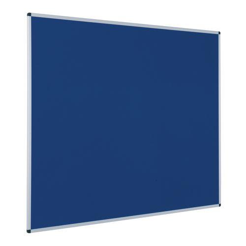Budget Felt Noticeboard 900x1200mm (Hxw) Blue