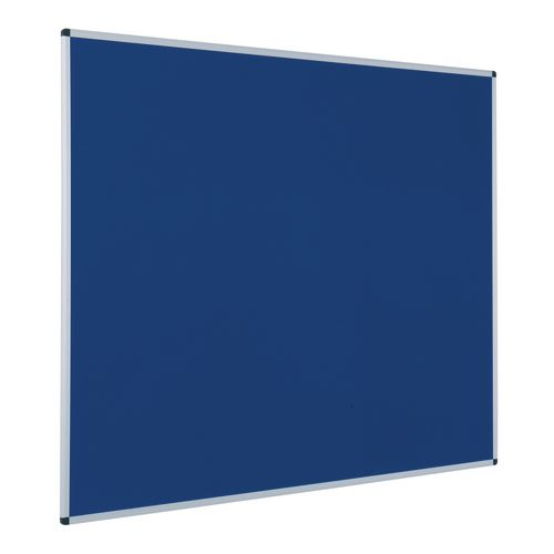Budget Felt Noticeboard 1200x2400mm (Hxw) Blue