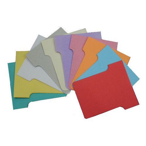 Standard Size 2 T-Card (Box 100)  White