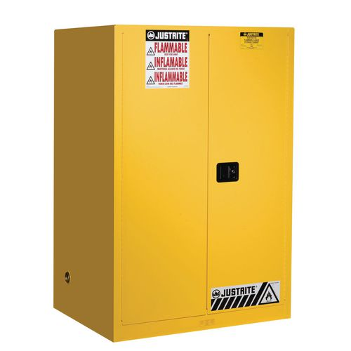 Sure-Grip Ex Slimline Safety Cabinet 341L Cap. 2 Self Closing Doors. 2 Shelves. 2 Dual Air Vents