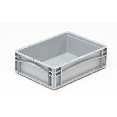 Basicline 400X300X120mm Solid Sides And Base With Hand Grips