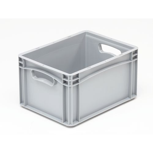 Basicline 400X300X220mm Solid Sides And Base With Hand Holes