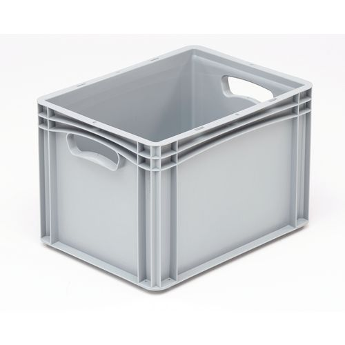 Basicline 400X300X270mm Solid Sides And Base With Hand Holes