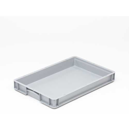 Basicline 600X400X70mm Solid Sides And Base With Hand Grips