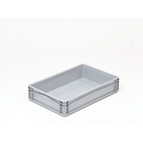 Basicline 600X400X120mm Solid Sides And Base With Hand Grips