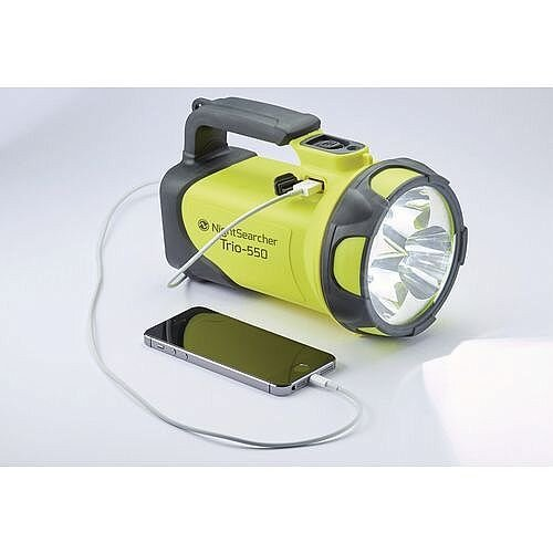 Nightsearcher Usb Rechargeable Flashlight Yellow