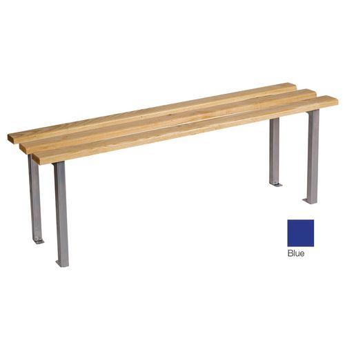Classic Mezzo Bench 1000x325mm 2 Legs Blue