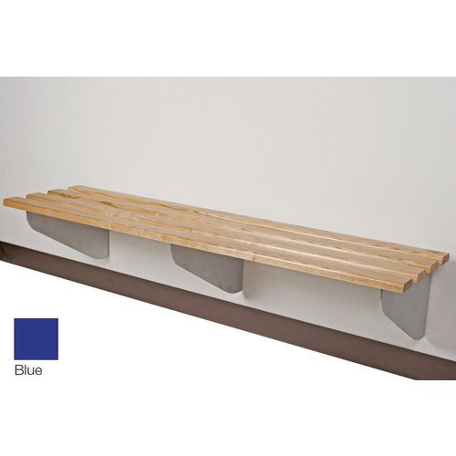 Classic Aero Bench 2000x450mm 3 Brackets Blue