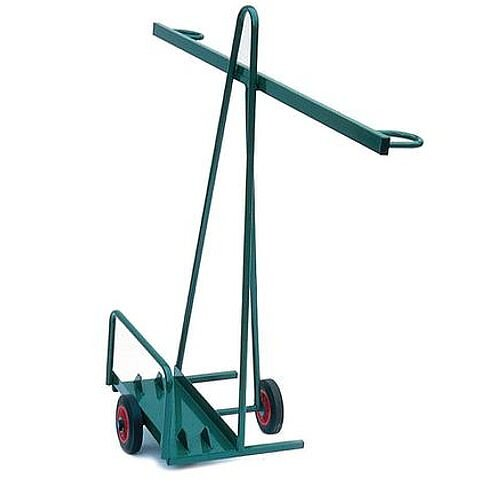 Easy Steer Board Panel Trolley With Rubber Wheels 100kg Capacity