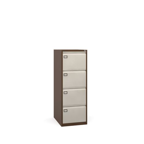 4 Drawer Filing Cabinet Coffee &Cream