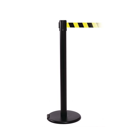Rollerpro 250 Black Post 3.4M Yell/Black Diagonal Belt