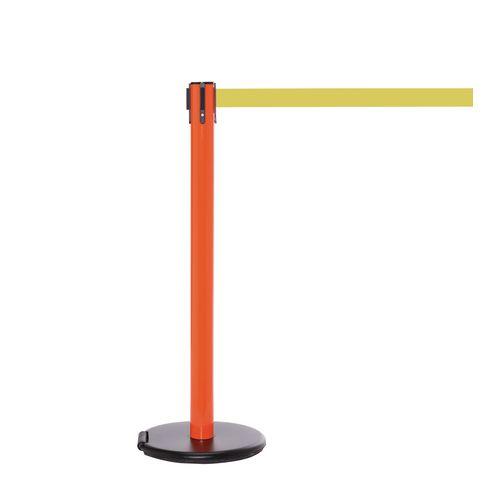 Rollersafety 250 Orange Post 3.4M Yellow Belt