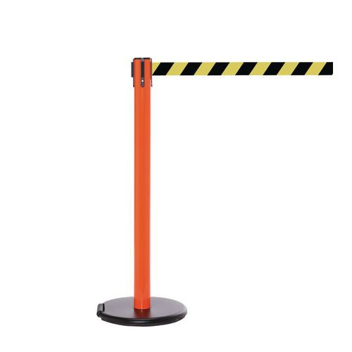Rollersafety 250 Orange Post 3.4M Yell/Black Diagonal Belt